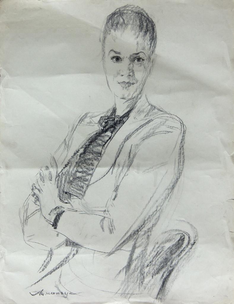 Ацманчук Александр: Женский портрет