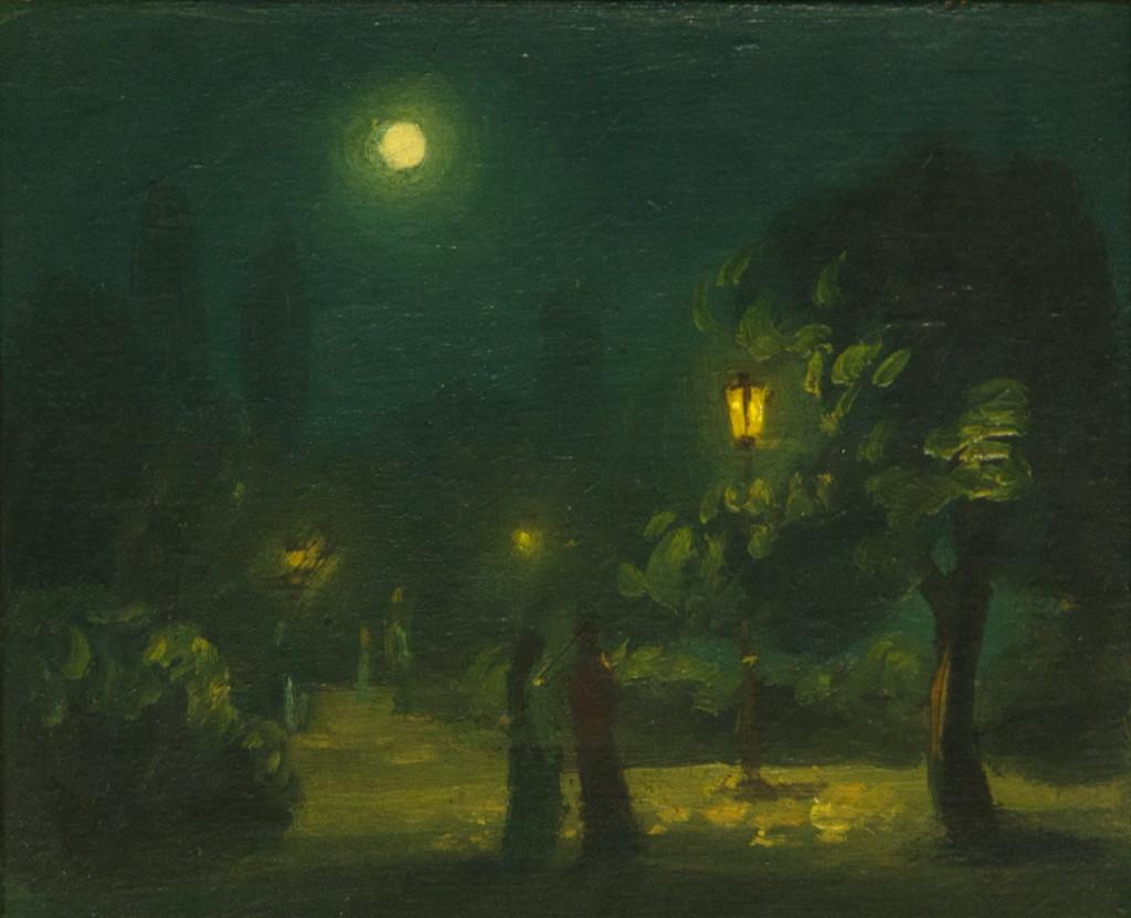 """Алтанец Валентин: """"Ночь в парке"""""""