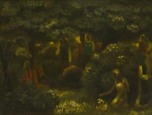Алтанец Валентин: Жанровая картина, пейзаж