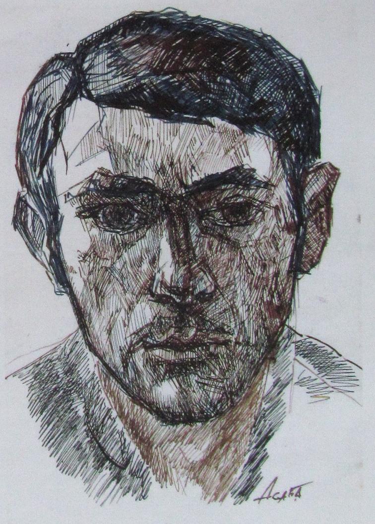 Автопортрет Асаба Анатолий