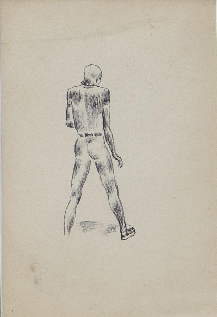 Асаба Анатолий: Вид со спины