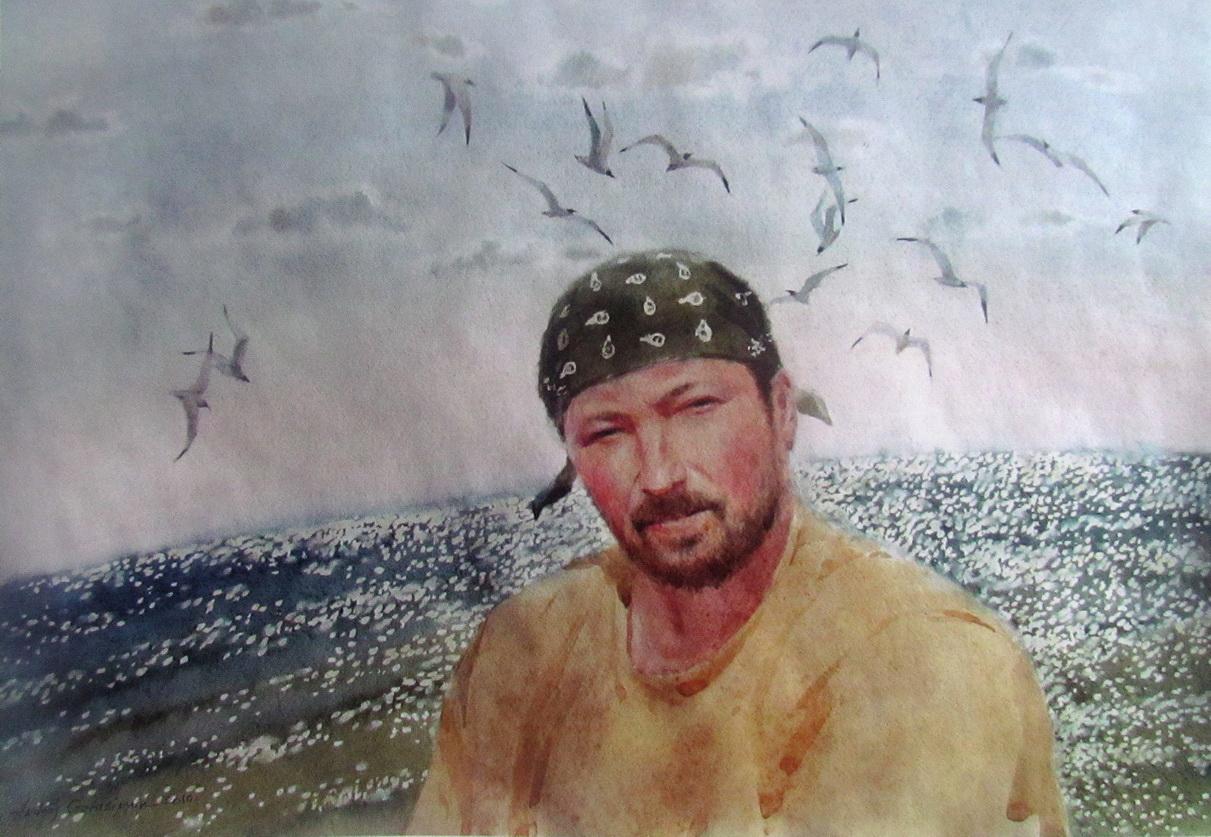 Автопортрет Герасимюка Андрея