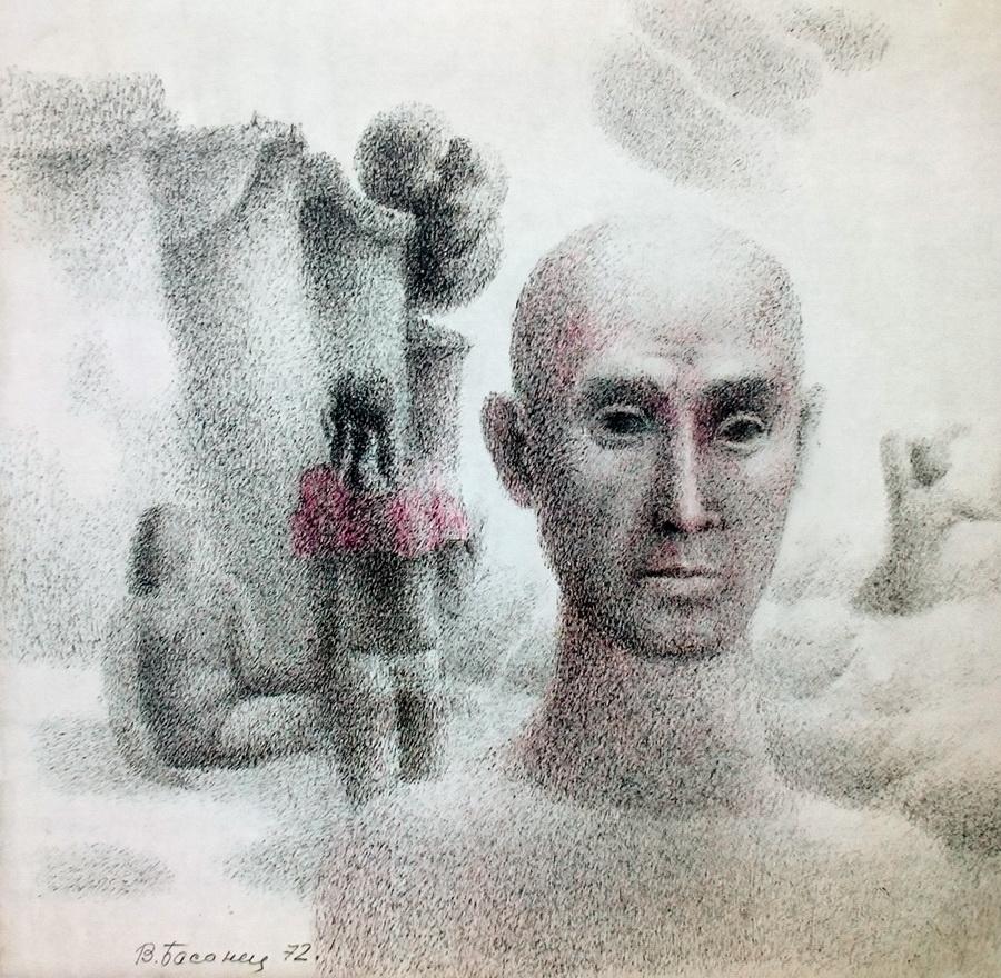 Басанец Валерий, автопортрет