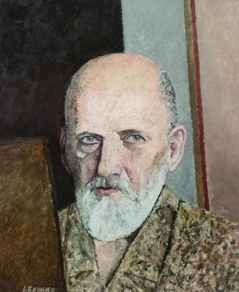Божко Игорь. Автопортрет художника