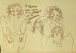 Медведева Екатерина: Наивные портреты. Жанровая картина 4