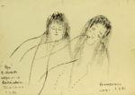 Медведева Екатерина: Наивные портреты. Жанровая картина 5
