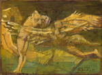 "Павлов Викотр: Сюрреализм ""Демон и Тамара"" Рисунок 1"