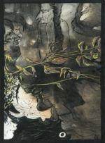 Соколов Олег: Жанровая картина. Аллюзии в японское искусство. Работа вторая