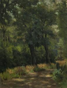 "Чемисов Александр: Пейзаж ""Тропа в лесу"""