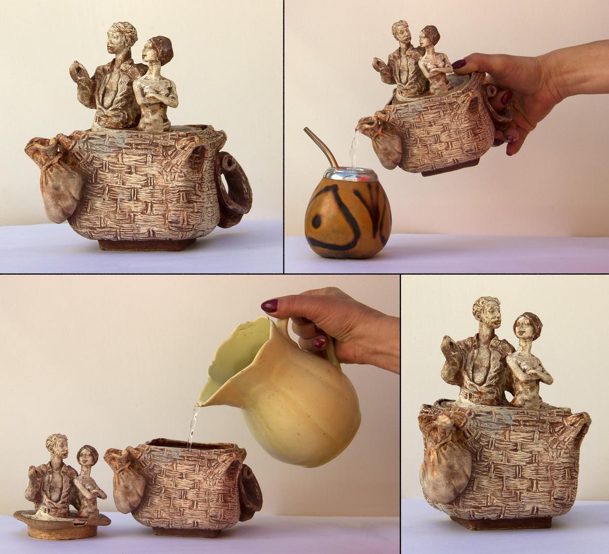 "Нужин Дмитрий: Скульптура Чайник ""Воздушный шар"""