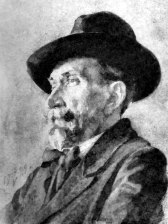 Дворников Тит. Портрет художника