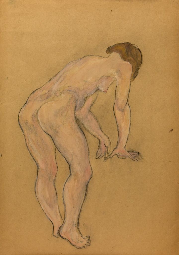 Фрейдин Александр: Вид со спины. Рисунок 5