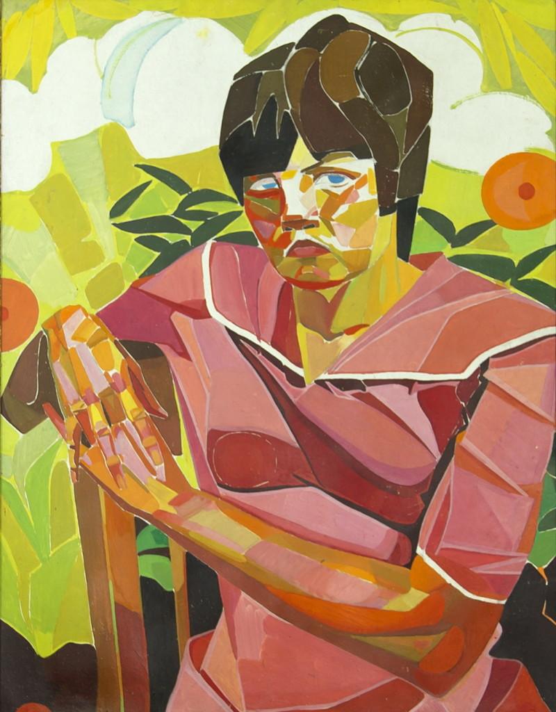Гегамян Валерий: Сидящая женщина