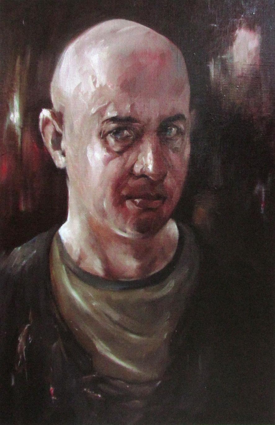 Автопортрет Кикнавелидзе Эмзарий