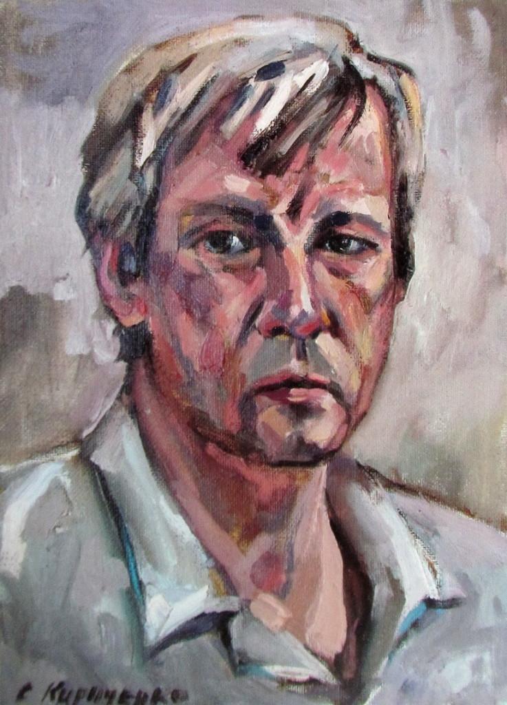 Автопортрет художника Кириченко Сергей