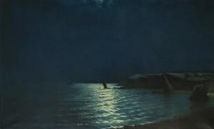 "Костанди Харлампий: Морской пейзаж ""Лунная дорожка"""