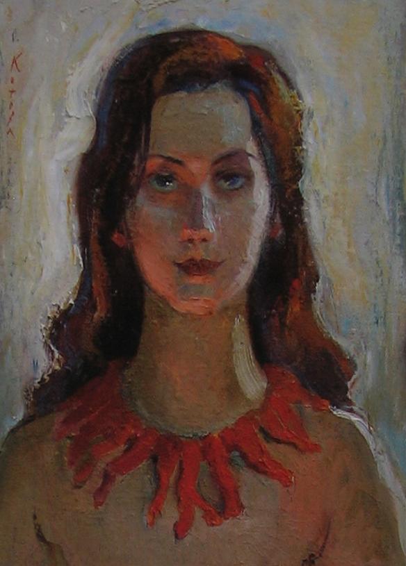 автопортрет художница Котова Ольга