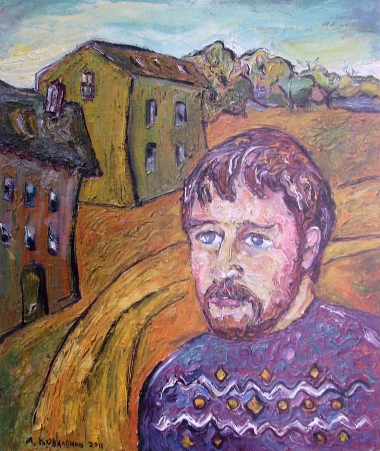 Автопортрет художника Коваленко Андрей