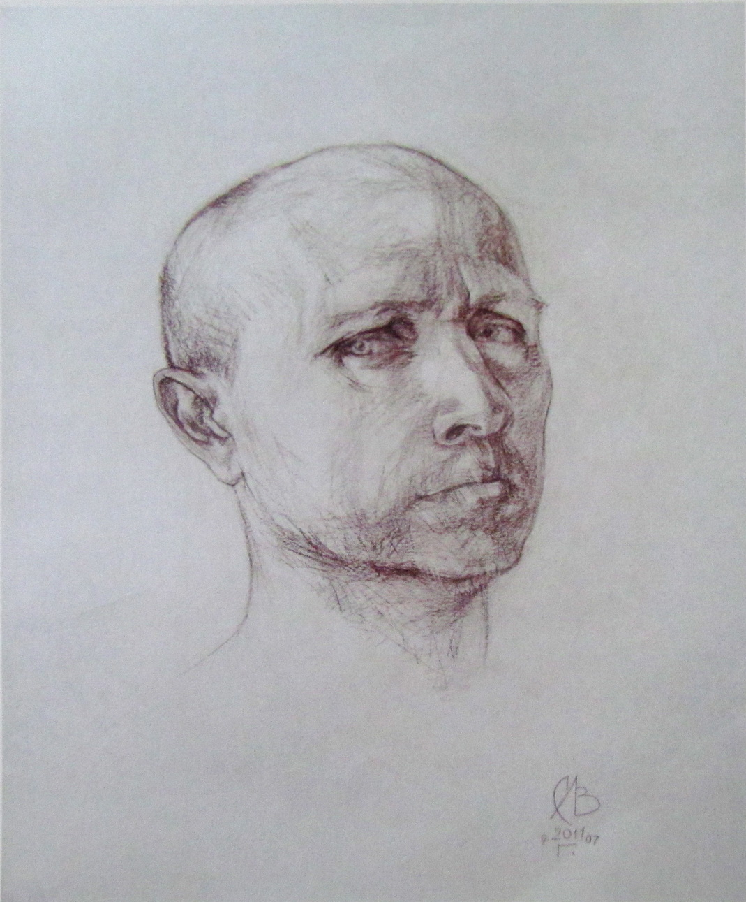 Автопортрет художника Лозовский Сергей