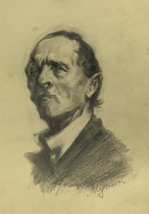 Мучник Леонид. Мужской портрет