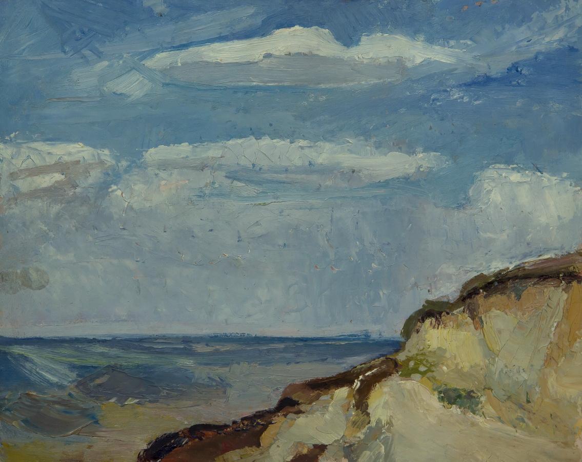 """Павлов Эдуард: Пейзаж """"Голубое небо"""""""