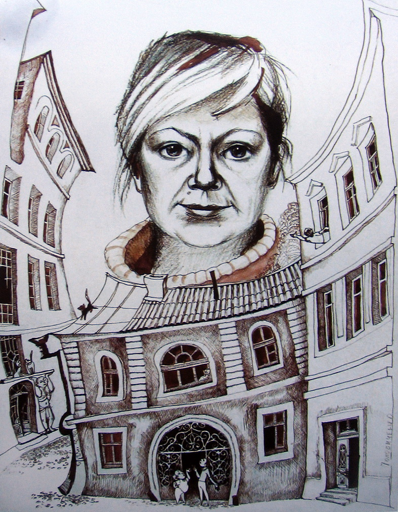 Автопортрет Поповиченко Татьяна