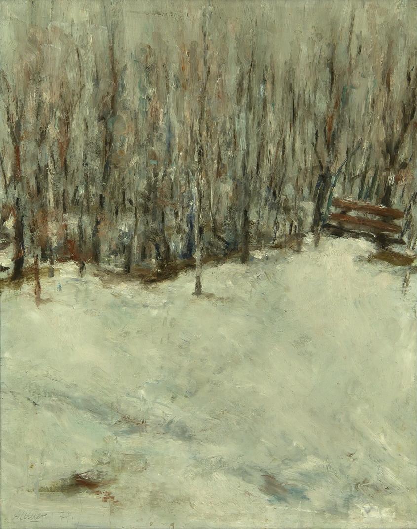 "Шистер Абрам: Пейзаж ""Зима"""