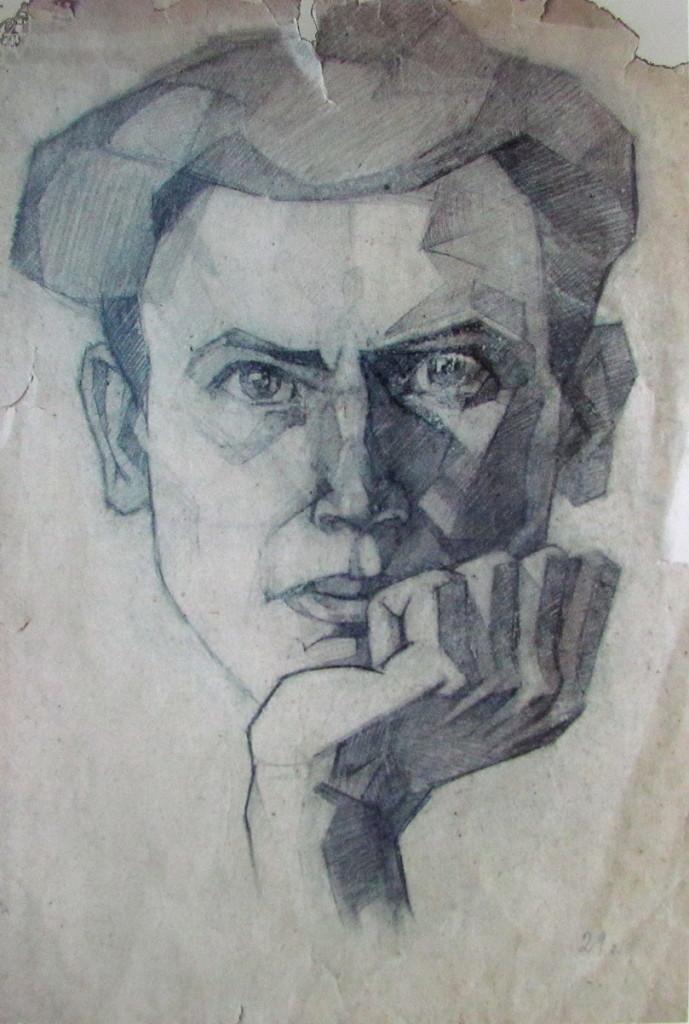 Автопортрет художника Соколов Олег