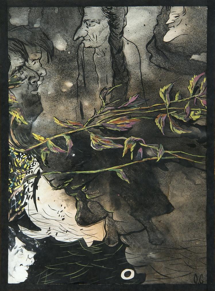 Соколов Олег: Аллюзии в японское искусство. Работа 2