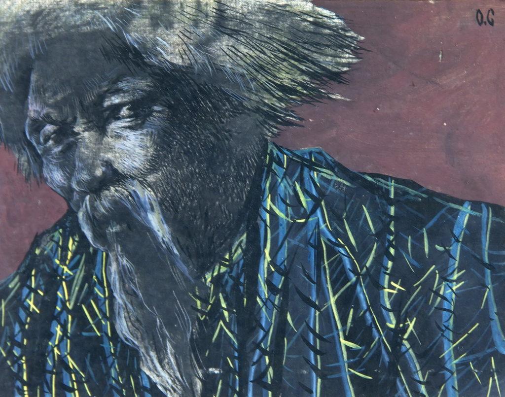 Соколов Олег: Аллюзии в японское искусство. Работа 3