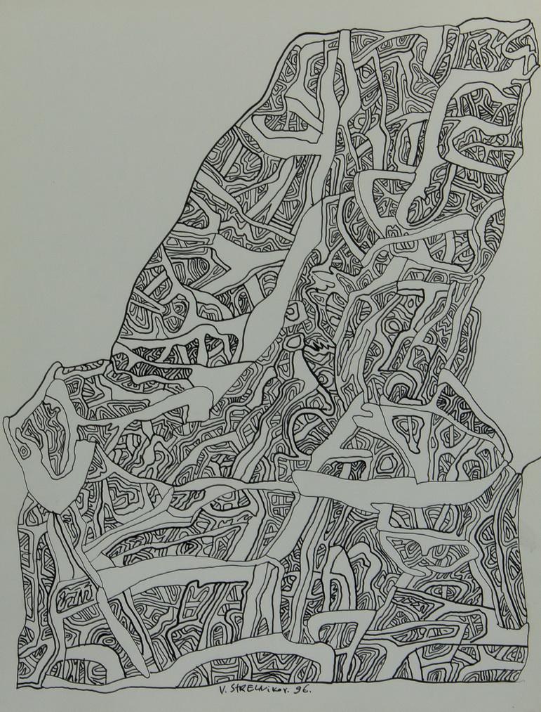 Стрельников Владимир: Без названия. Рисунок 6