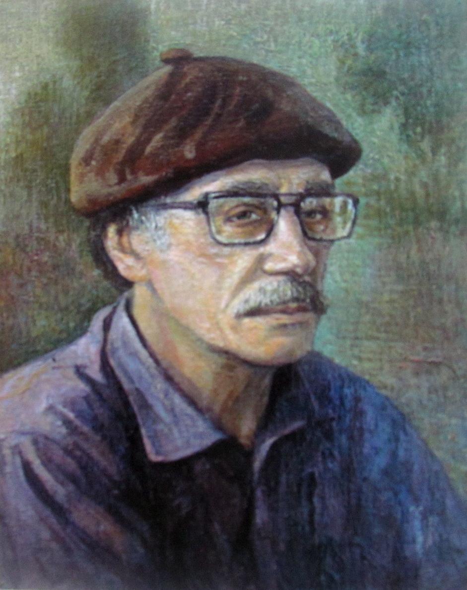 Автопортрет художника Сыров Валерий