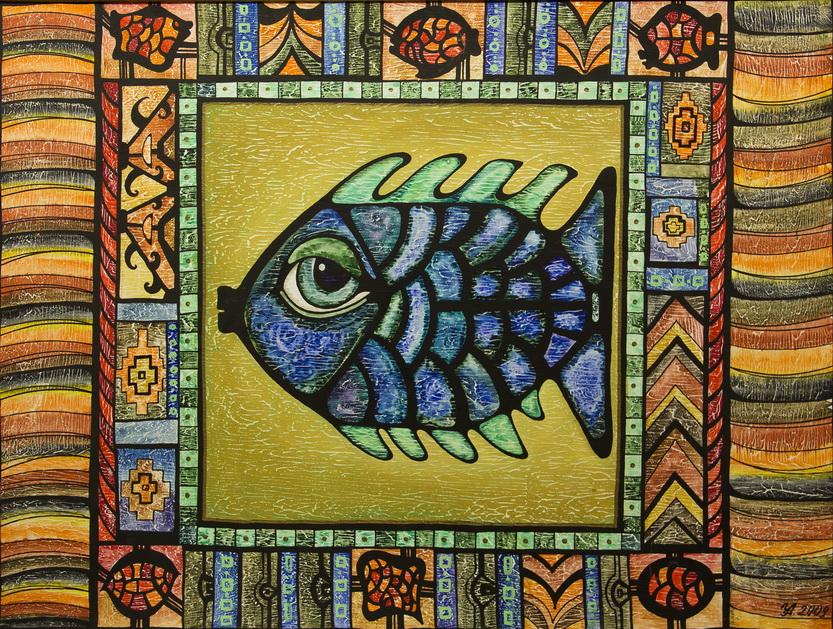 "Уварова Анастасия: ""Рыба"" Рисунок 1"
