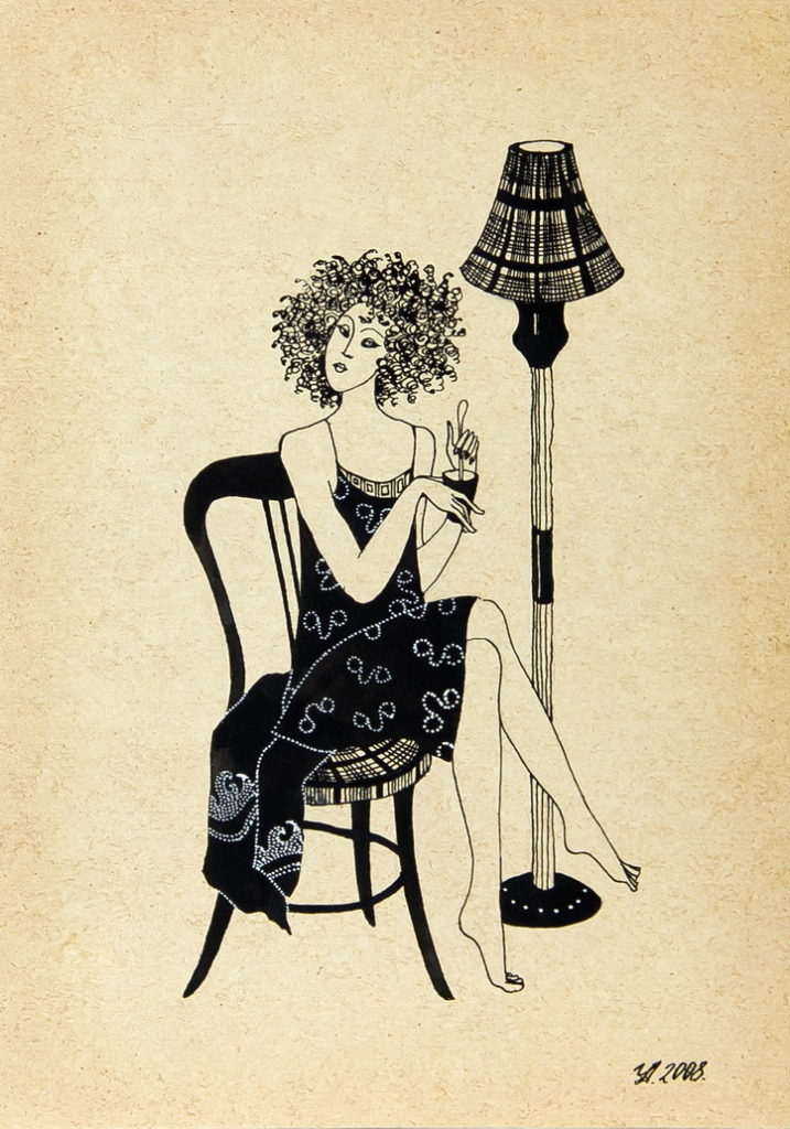 "Уварова Анастасия: ""Девушка на стуле"""