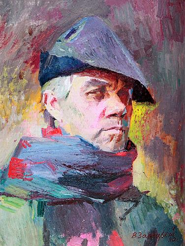 Автопортрет Зарецкий Виктор